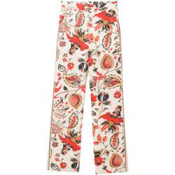 Abbigliamento Donna Pantaloni morbidi / Pantaloni alla zuava Desigual PANTALONI DONNA PANT DIMITRI 18SWPW15 Bianco