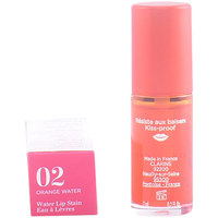 Bellezza Donna Gloss Clarins Eau À Lèvres 02-orange Water  7 ml