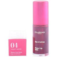 Bellezza Donna Gloss Clarins Eau À Lèvres 04-violet Water  7 ml