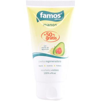 Bellezza Trattamento mani e piedi Famos Crema Manos Regeneradora Aceite De Aguacate  75 ml