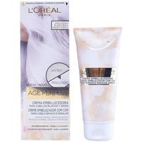 Bellezza Donna Accessori per capelli L'oréal Age Perfect Crema Embellecedora Con Color 01-blanco Perla 1 u