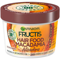 Bellezza Donna Maschere &Balsamo Garnier Fructis Hair Food Macadamia Mascarilla Alisadora