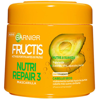 Bellezza Maschere &Balsamo Garnier Fructis Nutri Repair-3 Mascarilla  300 ml
