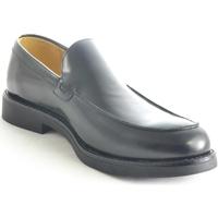 Scarpe Uomo Mocassini Malu Shoes Scarpe uomo mocassini inglese college vera pelle nero made in i NERO