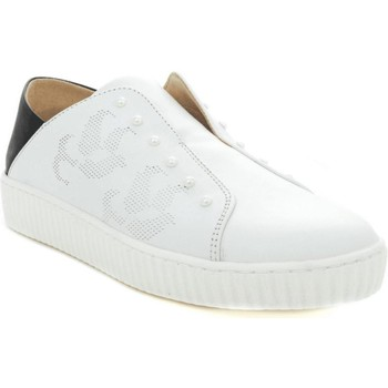 Scarpe Donna Sneakers basse Thc Collections +THC+ COLLECTIONS 685105 BIANCO/NERO Bianco