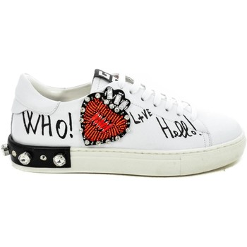 Scarpe Donna Sneakers basse +Thc+ Collections  Bianco
