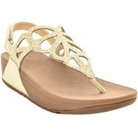 Scarpe Donna Sandali FitFlop BUMBLE CRYSTAL GOLD SANDALS Oro