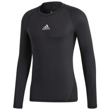 Abbigliamento Uomo T-shirt maniche corte adidas Originals Alphaskin Sport LS Nero