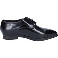 Scarpe Donna Richelieu Francescomilano scarpe donna  classiche nero pelle BX328 Nero