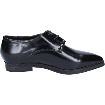 Scarpe Donna Richelieu Francescomilano classiche nero pelle BX328 Nero