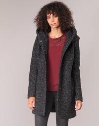 Abbigliamento Donna Cappotti Only ONLSEDONA Nero