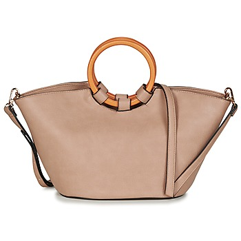 Borse Donna Tote bag / Borsa shopping André APPOLINE Taupe