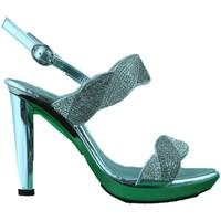 Scarpe Donna Sandali Phil Gatiér REPO Phil Gatiér sandalo donna gioiello tacco alto argento Silver