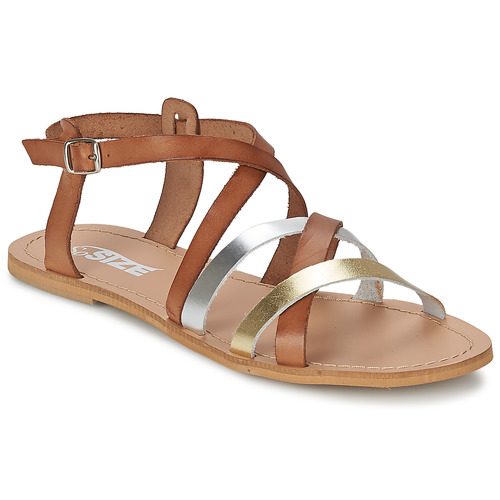 So Size AVELA Nocciola  Scarpe Sandali Donna 48
