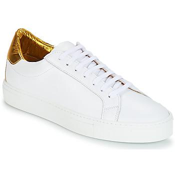 Scarpe Donna Sneakers basse KLOM KEEP Bianco / Dore