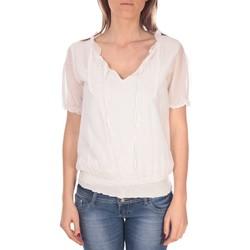 Abbigliamento Donna Top / Blusa Vision De Reve Tunique Kate 7041 Blanche Bianco