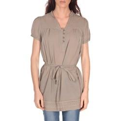 Abbigliamento Donna Tuniche Vision De Reve Tunique Claire 7090 Taupe Marrone