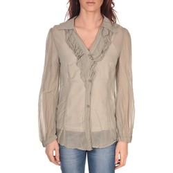 Abbigliamento Donna Top / Blusa Vision De Reve Tunique Lorine 7068 Gris Marrone