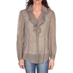 Abbigliamento Donna Top / Blusa Vision De Reve Tunique Lorine 7068 Taupe Marrone