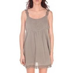 Abbigliamento Donna Tuniche Vision De Reve Robe Toupie 7062 Marron Marrone