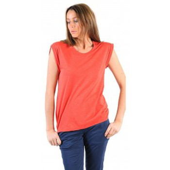 Abbigliamento Donna T-shirt maniche corte American Vintage TEE-SHIRT JAC60E11 VERMILLON Rosso