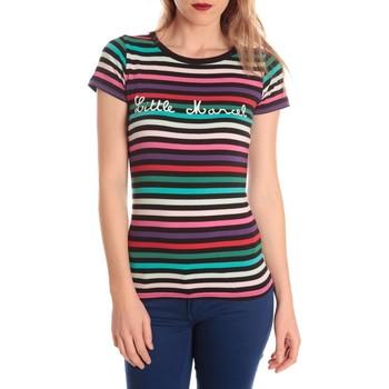 Abbigliamento Donna T-shirt maniche corte Little Marcel t-shirt line RDC MC 225 Multicolore