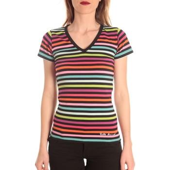 Abbigliamento Donna T-shirt maniche corte Little Marcel t-shirt alexina MC 229 Multicolore