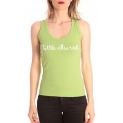 Abbigliamento Donna Top / T-shirt senza maniche Little Marcel débardeur detroit corde greenery Verde