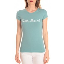Abbigliamento Donna T-shirt maniche corte Little Marcel t-shirt tokyo corde turquoise Blu