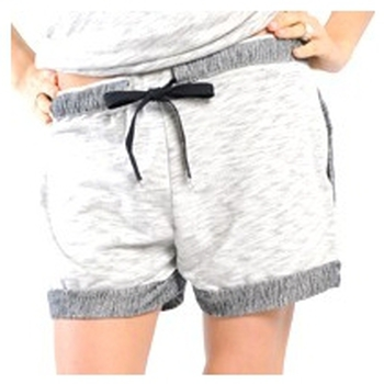 Abbigliamento Donna Shorts / Bermuda La Petite Française SHORT PLACIDE GRIS CHINE Grigio