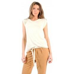 Abbigliamento Donna T-shirt maniche corte American Vintage TOP JAC60 NATUREL Beige