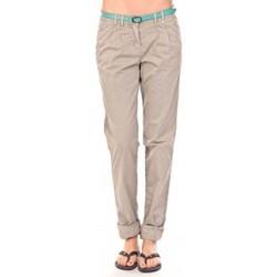 Abbigliamento Donna Pantaloni Tom Tailor Pantalon Ceinture gris Grigio