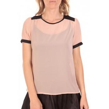 Abbigliamento Donna Top / Blusa Vero Moda Top Norma Rose Poudre Rosa