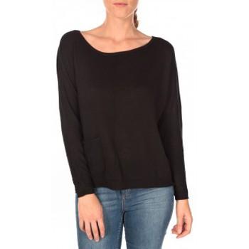 Abbigliamento Donna Maglioni Tom Tailor Basic Structure Pullover Noir Nero