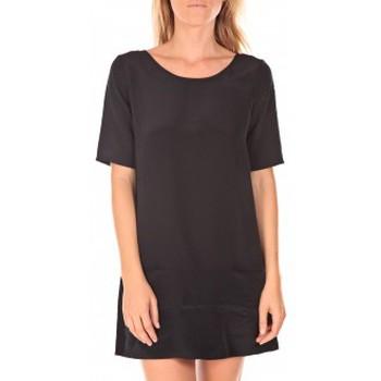 Abbigliamento Donna Abiti corti Vero Moda Rose 2/4  Robe  wall Aug noir Nero