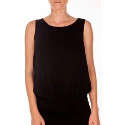 Abbigliamento Donna Top / T-shirt senza maniche Vero Moda BELFAST SL TOP EA noir Nero