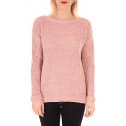 Abbigliamento Donna Maglioni Vero Moda WOODPECKER LS BOATNECK KM  Rose Rosa