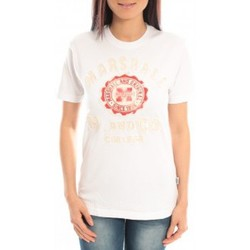 Abbigliamento Donna T-shirt maniche corte Sweet Company T-shirt Marshall Original M and Co 2346 Blanc Bianco