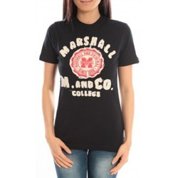 Abbigliamento Donna T-shirt maniche corte Sweet Company T-shirt Marshall Original M and Co 2346 Noir Nero