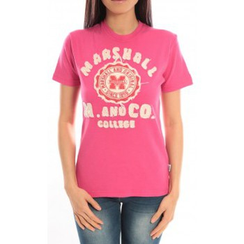Abbigliamento Donna T-shirt maniche corte Sweet Company T-shirt Marshall Original M and Co 2346 Fushia Rosa