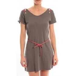 Abbigliamento Donna Abiti corti Blune Robe Larme de Joie LJ-RF01E13 Grise Grigio