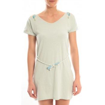 Abbigliamento Donna Abiti corti Blune Robe Larme de Joie LJ-RF01E13 Verte Verde