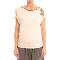 Abbigliamento Donna T-shirt maniche corte Blune T-Shirt Libre Comme l'Air LCL-TF02E13 Rose Rosa