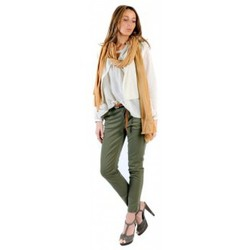 Abbigliamento Donna Top / Blusa American Vintage BLOUSE MIL144E11 NATUREL Beige