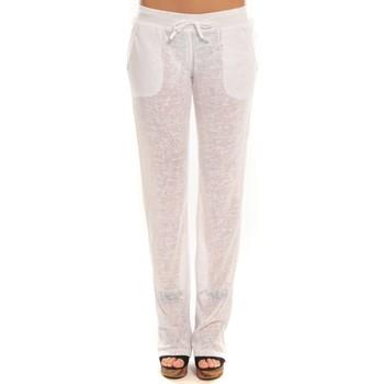 Abbigliamento Donna Pantaloni da tuta By La Vitrine Pantalon  BLV01Blanc Bianco