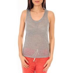 Abbigliamento Donna Top / T-shirt senza maniche By La Vitrine Débardeur BLV06 Gris Grigio