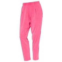 Abbigliamento Donna Pantaloni So Charlotte Pleats jersey Pant B00-424-00 Rose Rosa