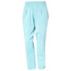 Abbigliamento Donna Pantaloni So Charlotte Pleats jersey Pant B00-424-00 Vert Verde