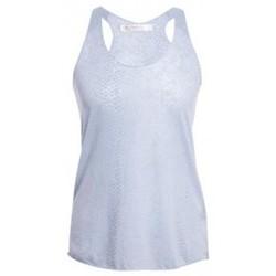 Abbigliamento Donna Top / T-shirt senza maniche So Charlotte Oversize tank Top Snake Burnout T53-371-00 Gris Grigio