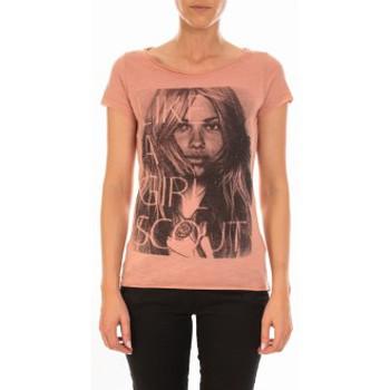 Abbigliamento Donna T-shirt maniche corte Vero Moda TOP JESSICA CAP SLEEVE Rose Dawn/W. Front P Rosa